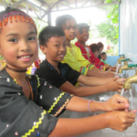 World Vision and Metrobank Foundation turn over hand washing and drinking facility project