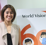 Volleyball star Gretchen Ho, named World Vision Ambassador for Health and Nutrition