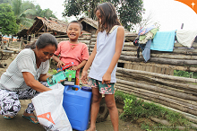 World Vision and Procter & Gamble U.S. provide relief for flooded Agusan communities