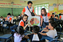 World Vision and UnionBank work together to foster a culture of reading among children