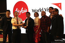 "AirAsia and World Vision to help children ""See the World"""
