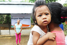 Aeta families receive livelihood assistance from World Vision