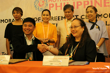 World Vision and DOH partner to strengthen implementation of Philippine Milk Code