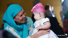 World Vision provides support to pregnant and lactating mothers displaced from Marawi