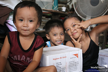 World Vision provides emergency essentials to 2,000 families in Albay