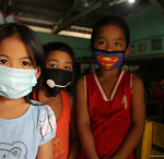 Children at risk of respiratory illnesses due to volcanic ashes
