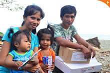 World Vision reaches more than 1,000 Nina-hit families