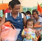 3,100 families fully equipped against disasters