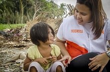 World Vision rolls out assistance to Nina-affected areas in Bicol
