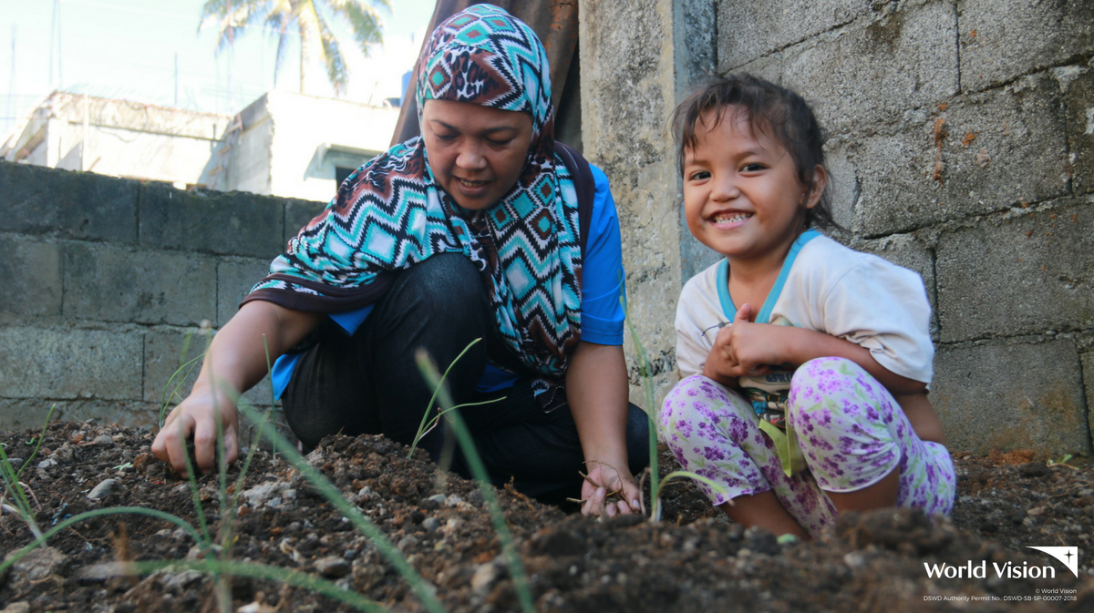 How a community garden is helping counter extremism in Marawi