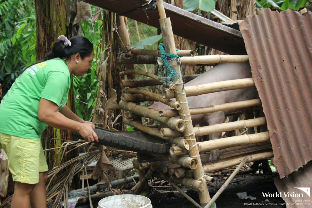 Livelihood Programs | A mother sees God's hands for the
