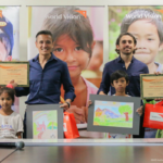 Enrico Menichetti and Victor Consunji go the extra mile for children in need