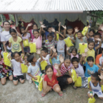 Kyocera Corporation holds an outreach reading program in North Cebu