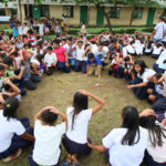 Public school in Iloilo Province holds earthquake drill
