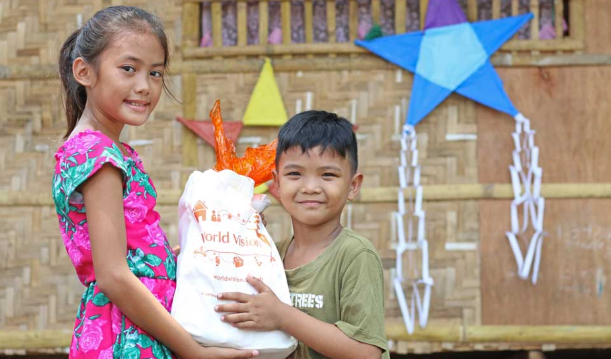 Last year, 87% of the Noche Buena donations were spent for the Noche Buena packs of all World Vision registered children, the special gifts pledged for sponsored kids and a simple Christmas party in the community. The remaining 13% was used for the processing of the donations, the delivery and distribution of the gifts, and the facilitation of the gift acknowledgment.