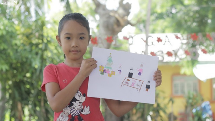The Gift of Love: Hilarey - A Sponsored Child Christmas Story