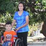 A mother's love for her PWD son