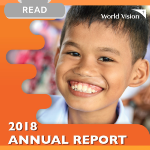World Vision continues to engage with various sectors including the national and local government, the business community through corporate social responsibility and social entrepreneurship, the academe, churches, civil society, the media, and other like-minded individuals and groups committed to improve the well-being of children and building the nation, one child, one community at a time.