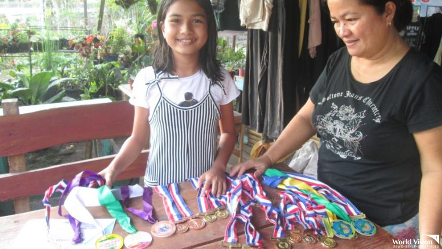 A sponsored child leads supreme pupil government slate