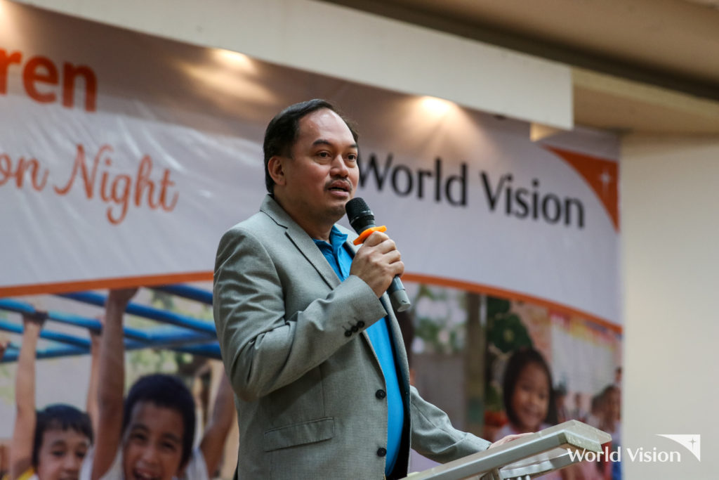 48 World Vision registered children were sponsored at WVDF's Loyal Donor Appreciation Night held at the Meralco Multi Purpose Hall on June 1.