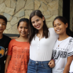 Jasmine Curtis-Smith's first meeting with her World Vision Sponsored Children