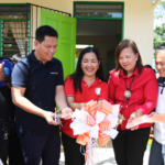 Elementary students in Batangas received two new classrooms and a library this school year