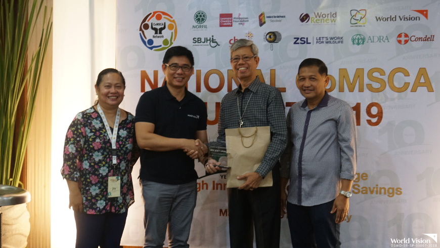 One of the country's biggest savings group movement is celebrating its 10th anniversary this year and it culminated during a National Summit last May 28-30 at Cebu City.
