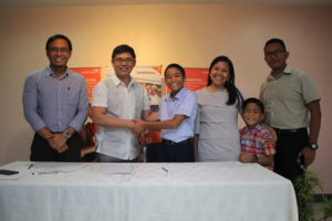 """Promising Filipino singing 12-year old stage-actor Julien Joshua """"JJ"""" Millanes Dolor, was recently announced by World Vision as the newest and youngest ambassador for children in the Philippines."""
