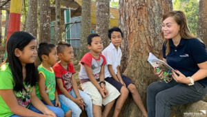 Working with World Vision now as Program Officer is the coming together of all the lessons I learned in the past as a social worker. Advocating for the betterment of children in the communities of Misamis Occidental and helping ensure that their parents and their communities are able to support their well-being is humbling