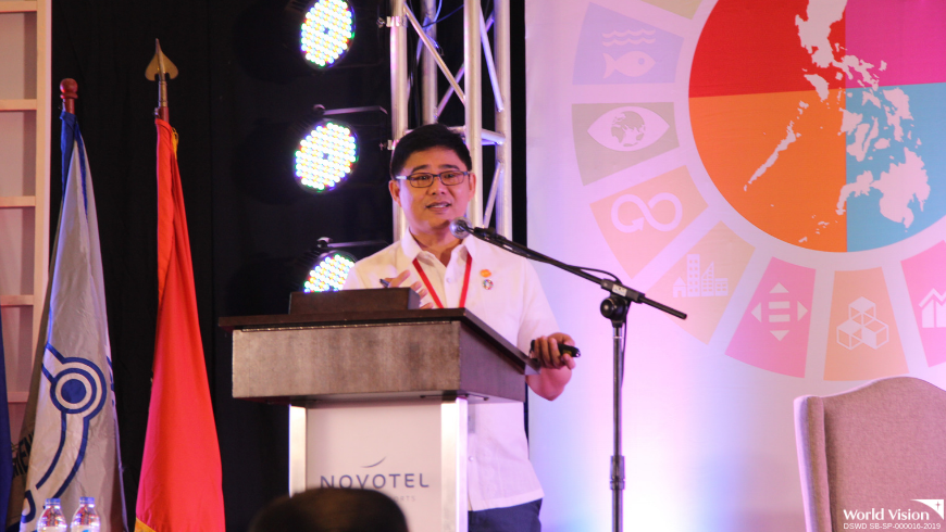 Delegation from World Vision Development Foundation during the Disaster Resilience Summit being held at Novotel Manila, Quezon City