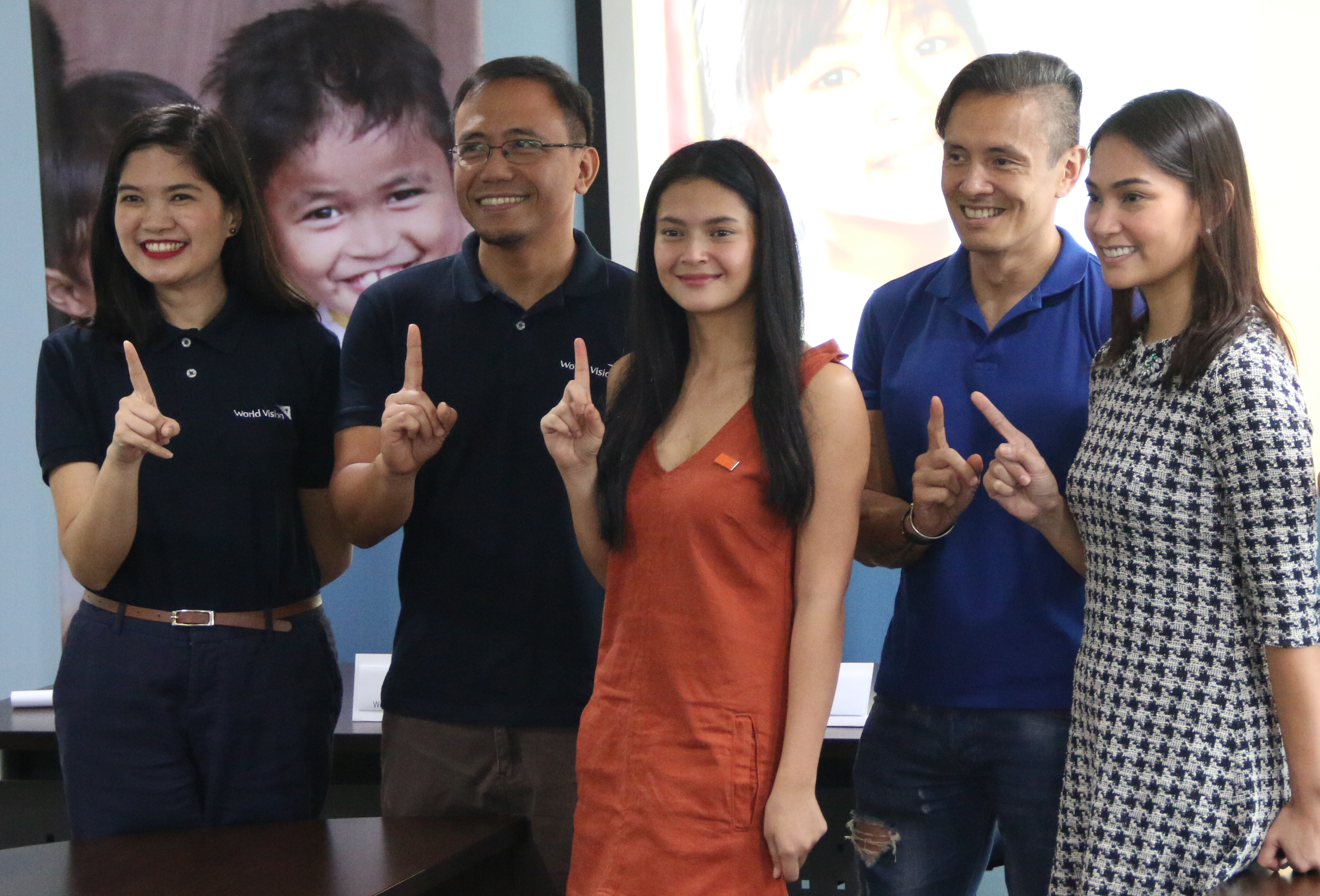 World Vision launches 1,000 Girls campaign with Bianca Umali, Victor Consunji and Enrico Menichetti