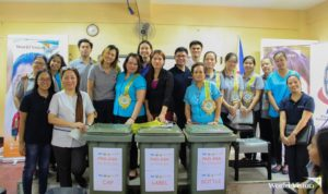 "World Vision and Procter & Gamble (P&G) Philippines together with Department of Education Malabon Division Office launched the ""Pag-asa sa Basura"" campaign"