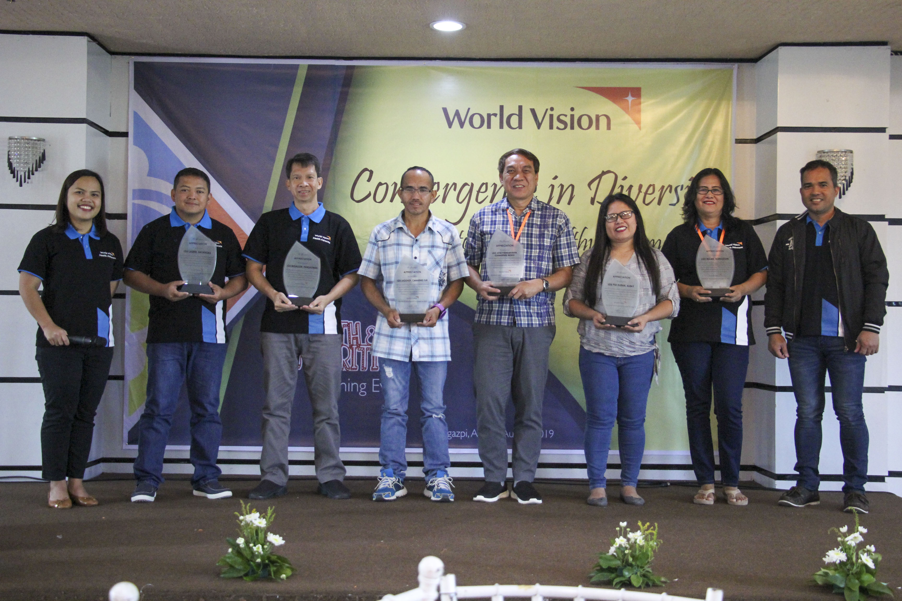 Nearly 100 health workers from six provinces in Luzon expressed their gratitude and appreciation to World Vision for helping their communities raise awareness and lessen cases on TB and malnutrition and HIV and AIDS.