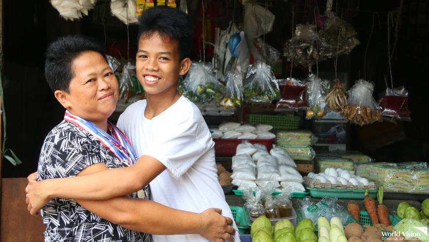 School achiever owes success to parents' hard work