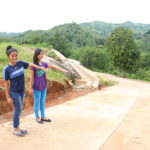 World Vision builds 270-meter cement road to give students easy access to school
