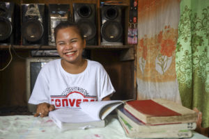"""""""I believe that no child wants to stop school. They just need the right motivation to continue despite their life's circumstances. The Barkadahan Project offered that to 60 former OSYs who are now in school,"""""""