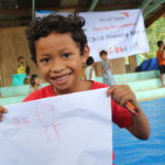 Almer and other quake-affected kids receive psychosocial support