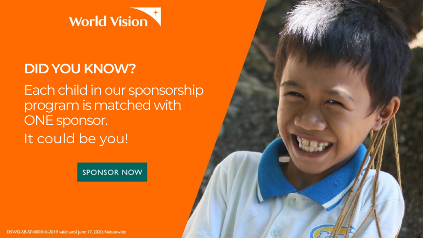 did you know-child sponsorship