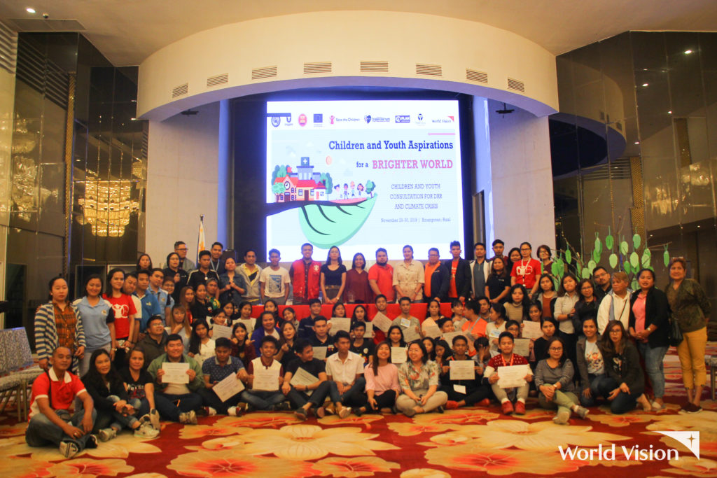 A total of 52 children and youth members from all across the Philippines gathered in Binangonan, Rizal for the National Children and Youth Consultation for Disaster Risk Management (DRR) and Climate Crisis on November 29-30, 2019.