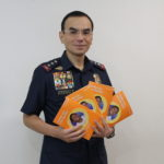 PNP Lt. Gen. Eleazar experiences the joy of child sponsorship through World Vision