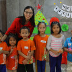 Corporate volunteers celebrate Christmas with World Vision children