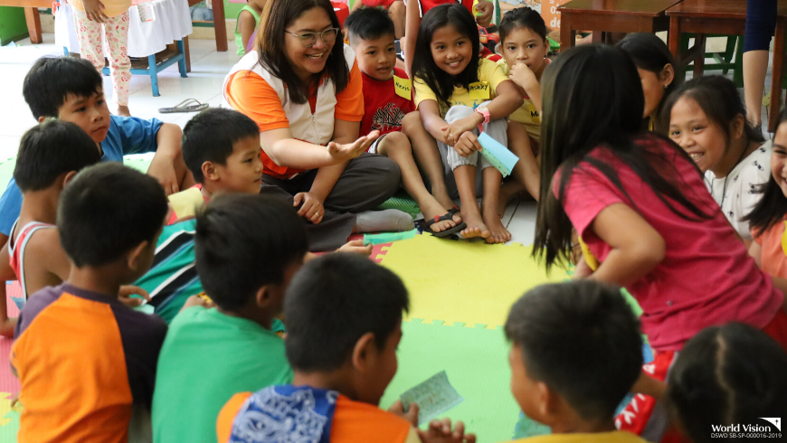 Children need special assistance to cope from stress and Taal's fury