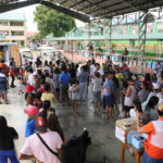 World Vision provides Taal-affected families with household items as the latter return home