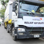 World Vision partners with Ernest Logistics Corp. to deliver aid to Taal evacuees