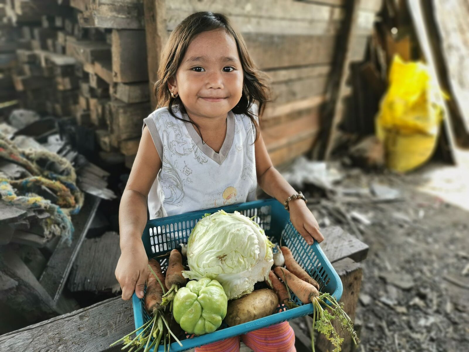 World Vision and Shell Foundation distribute tons of fresh vegetables in Metro Manila and CDO