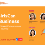 "Gretchen Ho leads ""#GirlsCan Do Business"" webinar for World Vision's 1000 Girls Campaign"