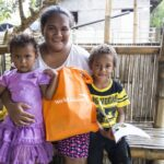 Activity cards, story book, and radio provided  to COVID-19 affected Aeta community