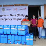 UNFPA, World Vision aid Typhoon Rolly-damaged health centers in Catanduanes