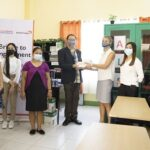 Czech Republic, World Vision donate classroom supplies to ALS students