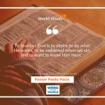 The Passover Week – Wednesday